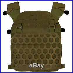 5.11 Tactical All Mission Plate Carrier Unisex Body Armour Torso Ranger Green