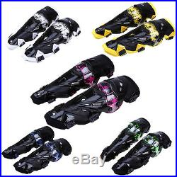 5 Colour Motorcycle Motocross Cycling Shin Knee Pads Armor Brace Protective Gear