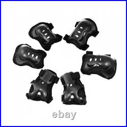 6Pcs Cycling Skating Multi Sports Protective Gear Palm Elbow Knee Pad Support