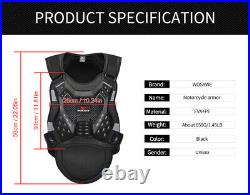 Adult Body Armoured Chest Protection MTB Bike Knee Elbow Pads Protective Gear