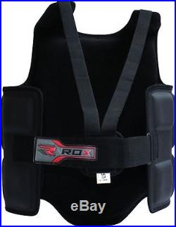 Authentic RDX Professional Advance Chest Body Protector Guard MMA Armour US