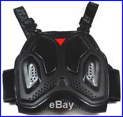 Black MTB Bike Riding BMX Stunt Spine $ Chest Bicycle Cycling Protective Gear DN