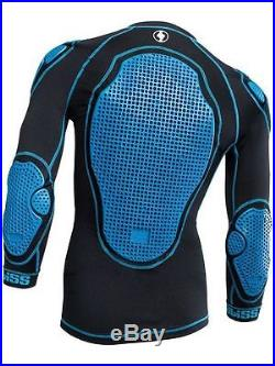 Bliss ARG 1.0 LD Protection Padded Cycling Top Black/Blue XXL