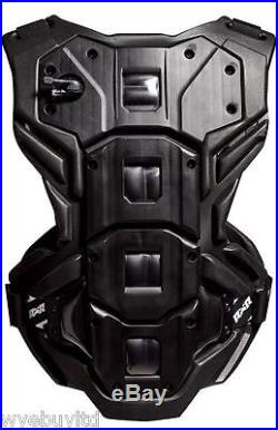 Bullet padded protective body armour for motocross mountain bmx biking riders