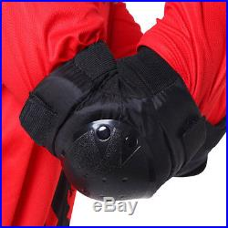 Cycling Roller Skate Skating Scooter ELBOW Protective Gear Pads PeeWee Black AU
