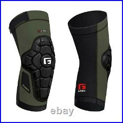 G-FORM PRO RUGGED Knee Pads Guards Mtb Bmx Dh Cycling Protection Gear ARMY GREEN