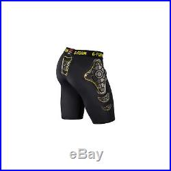 G-Form Pro-X Youth Compression Shorts Black/Yellow MD