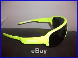 Genuine POC Cycling Sunglasses in Yellow Brand New with Case