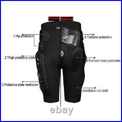 Motorcycle Body Protective Armor Jacket Racing Short Pants Pad gloves Motocross