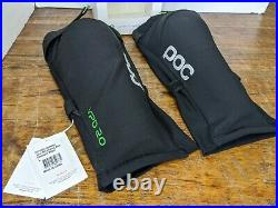 POC Joint VPD 2.0 Long Knee Guard Black Size LG new with tags