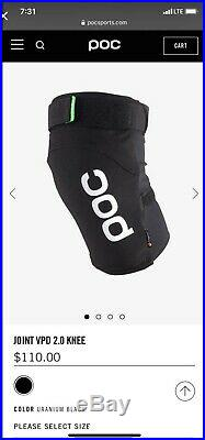 POC Joint VPD 2.0 Protective Knee Guard Black MD