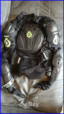 SIXSIXONE Vapor Pressure Body Armour Suit and Pads Downhill Motocross MTB